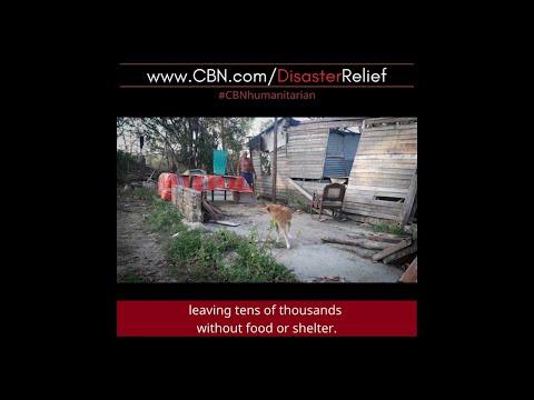 Cuba Hurricane CBN Relief