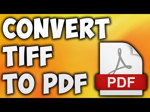 How To Convert TIFF TO PDF Online - Best TIFF TO PDF Converter [BEGINNER'S TUTORIAL]