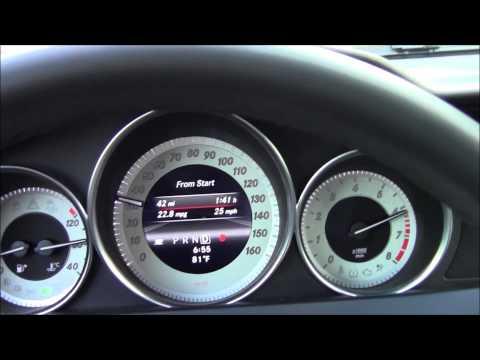 2013 Mercedes-Benz C300 4MATIC acceleration 0-60 mph
