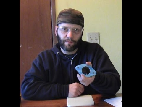 How to make a  Dodge Ram truck thermostat Gasket