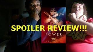 WONDER WOMAN SPOILER REVIEW!!!!