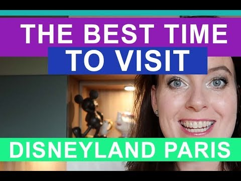 When is the best time to visit Disneyland Paris