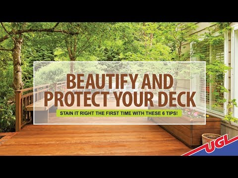 Beautify and Protect your Deck - Stain it Right with These 10 Tips