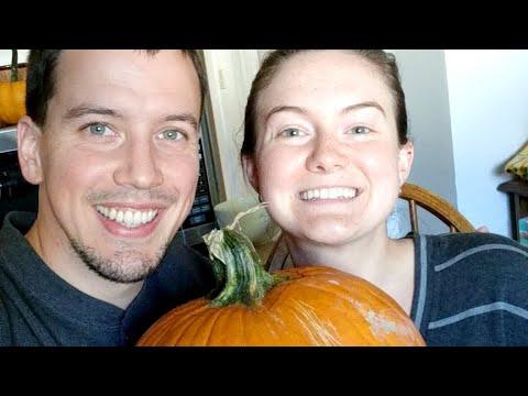Carving Kitty Pumpkins!