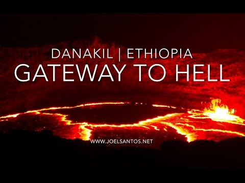 Gateway to Hell (Danakil, Erta Ale, Dallol — Ethiopia)