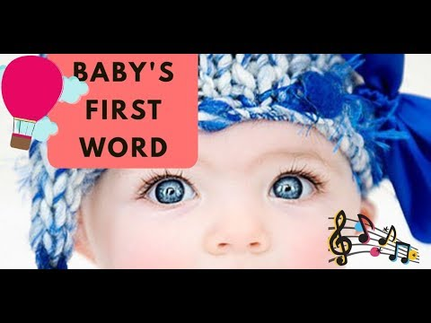 Baby's first word//baby said papa//baby can speak at the age of nine