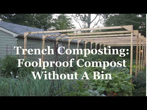Trench Composting: Foolproof Compost Without A Bin