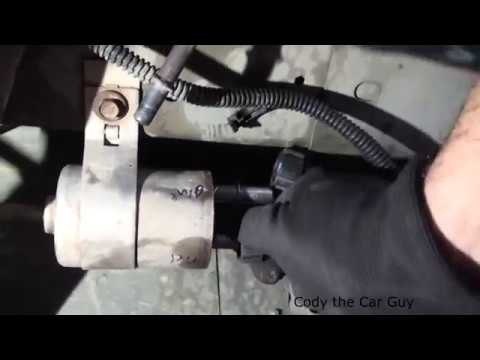 Chevy Cobalt Fuel filter location and replacement simple and easy