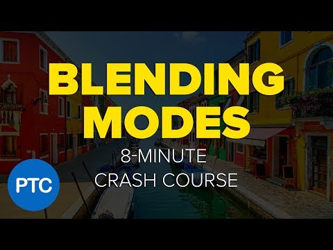 Photoshop BLENDING MODES - 8-Minute CRASH COURSE!