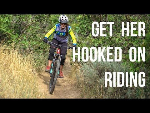 How to Get Your Girlfriend Hooked on Mountain Biking
