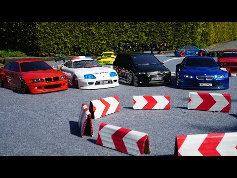 Building RC Drift Track