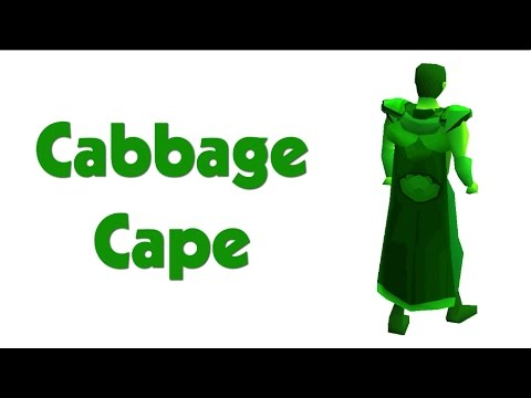 How to get the cabbage cape! 2017