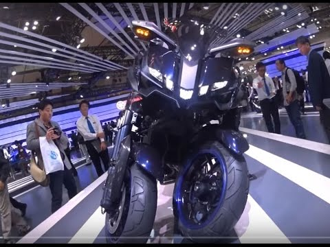 The Yamaha 2017 Motorcycles  - Show Room JAPAN