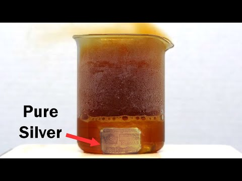 Making Silver Nitrate from Silver Metal