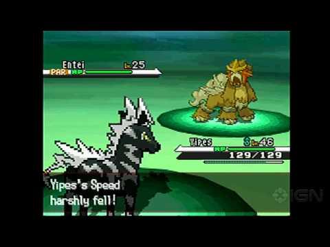 Pokemon Black: Zoroark Event with Legendary Dogs Gameplay