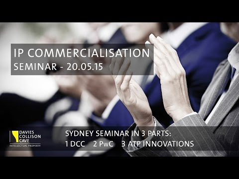 Commercialising Intellectual Property, R&D Tax, Funding and Incubators @ DCC Sydney