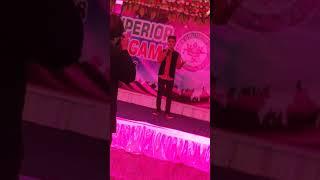 Khamoshiyan song by Talha Shahzad == Performance at concert