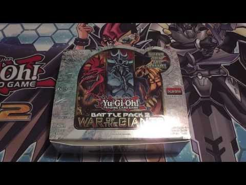 2nd Box: Battle Pack 2: War of the Giants Opening
