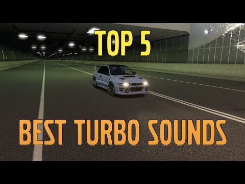 Forza Horizon 3 | Top 5 Best Car Sounds (Turbo)