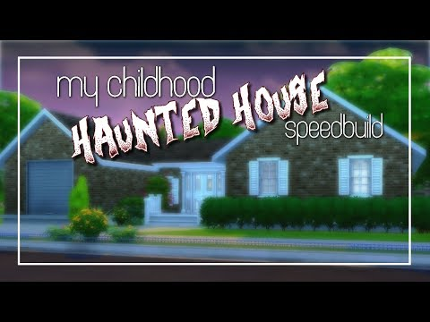 Building A Real Life Haunted House! | Speed Build