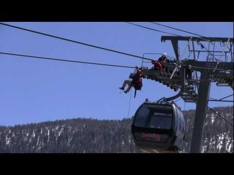 Heavenly Ski Lift Erection Crew