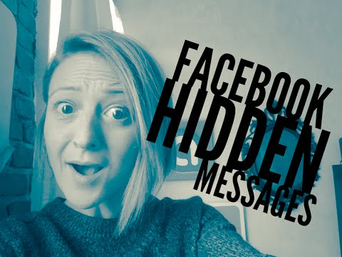 Are you missing Facebook messages?! Hidden messages revealed!