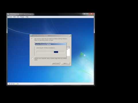 Windows 7: Check Disk (chkdsk)