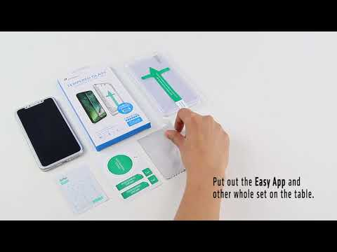 iPhone X Screen Protector Install Video with Easy App - Power Theory