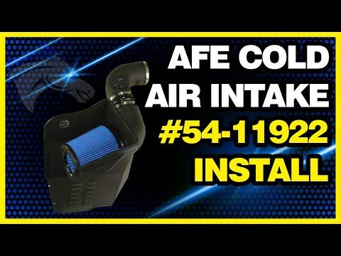 aFe Cold Air Intake Install: 2011 Duramax LML #54-11922