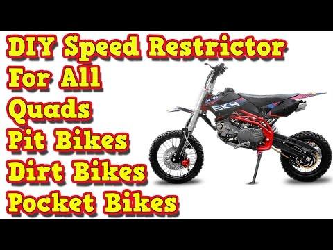 DIY Speed Restrictor for all Pit Bikes - Dirt Bikes - Quads - Pocket Bikes