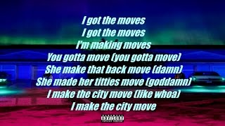 Big Sean - Moves (LYRICS)