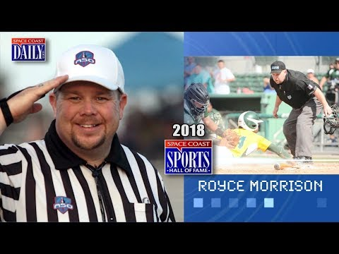 Royce Morrison: 2018 Space Coast Sports Hall of Fame