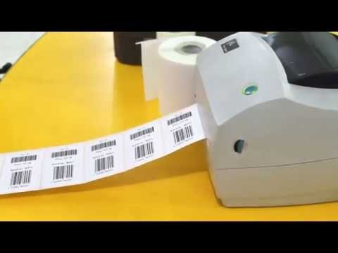 Designing and Printing Labels - Code 39 and EAN 13 barcode fonts - Zebra Thermal Printer