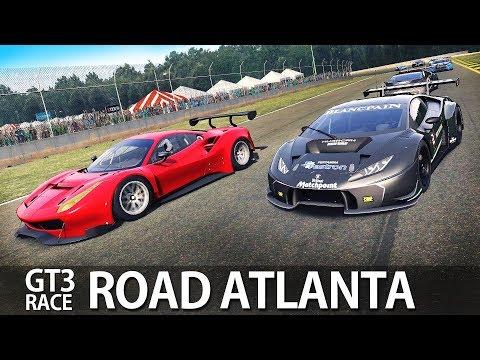 ROAD ATLANTA GT3 RACE   ASSETTO CORSA