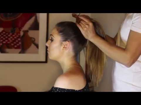 How to get Jlo Sleek High Ponytail