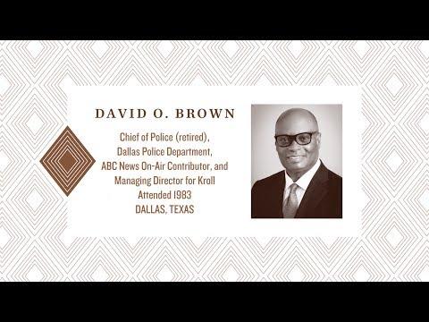 2017 Distinguished Alumnus: David Brown