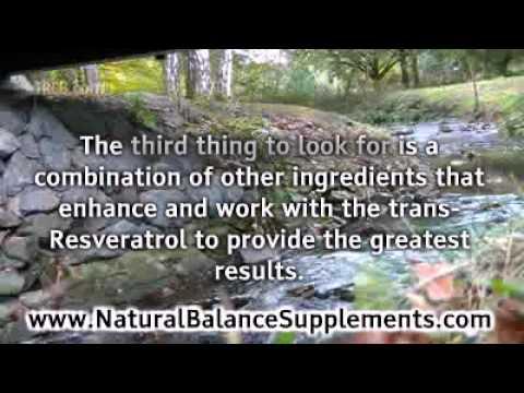 Resveratrol Pills as Anti Aging Supplements