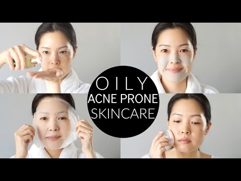 Basic Oily & Acne-Prone Skincare Routine and Essentials!