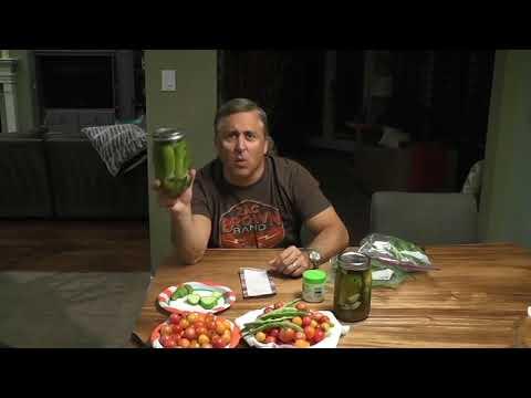 Reasons Why I Garden  & Making Fresh Pickles
