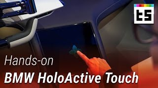BMW HoloActive Touch - Hands-on