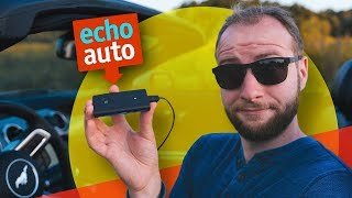 Taking Amazon's $50 Echo Auto for a test drive