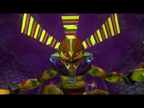 The Legend of Zelda: Majora's Mask 3DS - 100% Walkthrough Part 6 - Woodfall Temple + Odolwa Boss