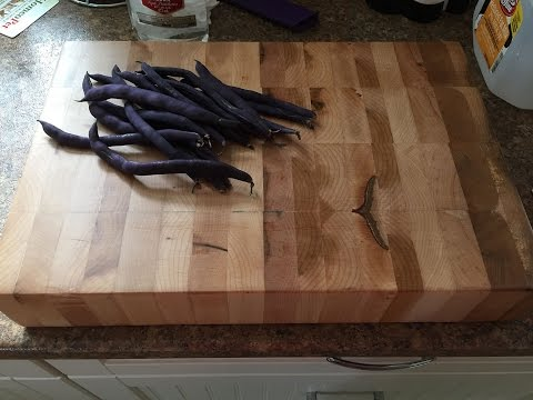 Home Made Cutting board from hard maple diy