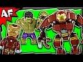 HULKBUSTER Rescue Mission 76031 Lego Marvel Super Heroes ...
