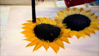 Download Painting Sunflowers Simple and Fun Video
