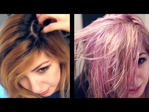 Pastel Purple Hair Process!