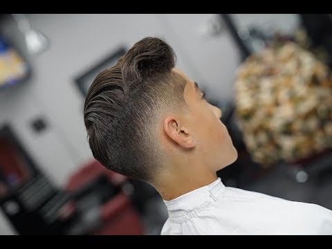 MENS HAIRCUT : LOW FADE!! TUTORIAL