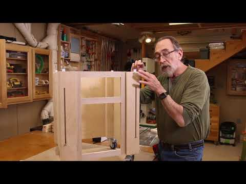 Part 7 - Under Table Saw Storage Cabinet Part - The Down to Earth Woodworker