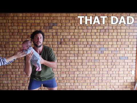 THIS DAD vs THAT DAD: Holding a Newborn Baby