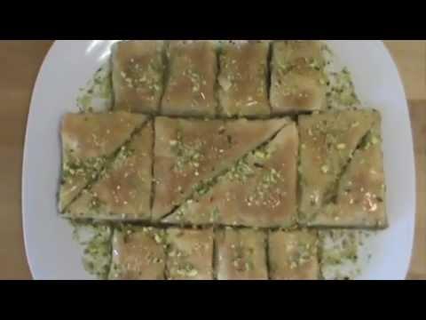 Baklava Recipe!  Simple & easy way to make Baklava  بقلاوة